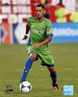 Clint Dempsey 2013 Action Fine-Art Print