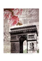 Paris in Bloom II - Mini Fine-Art Print