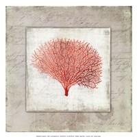 Coral Linen II - Mini Fine-Art Print