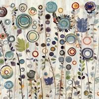 Ocean Garden I Square Fine-Art Print