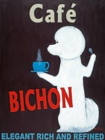 Cafe Bichon Fine-Art Print