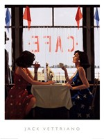 Cafe Days Fine-Art Print