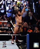 Daniel Bryan with Championship Belt 2013 Summer Slam Fine-Art Print