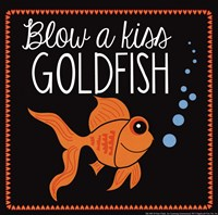 Blow a Kiss Goldfish Fine-Art Print
