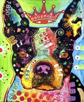 Boston Terrier Crowned Fine-Art Print