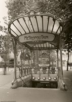 Metropolitain (Paris) I Fine-Art Print