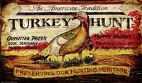 Turkey Hunt Fine-Art Print