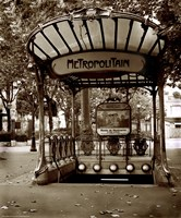 Metropolitain (Paris) II Fine-Art Print