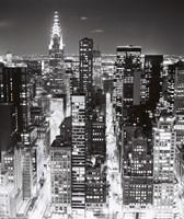 Night Skyline NYC Fine-Art Print