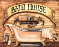 Bath House Fine-Art Print