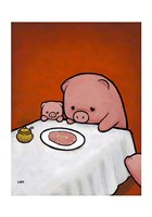Revenge Is a Dish (Pig) Fine-Art Print