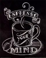 Espresso Your Mind No Border Fine-Art Print