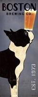 Boston Terrier Brewing Co Panel Fine-Art Print