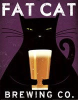 Cat Brewing no City Fine-Art Print