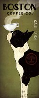 Boston Terrier Coffee Co Fine-Art Print