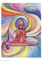 Yoga Burst Fine-Art Print