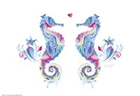 Sea Horses in Love Fine-Art Print