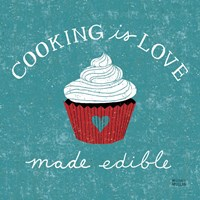 Cooking is Love Fine-Art Print