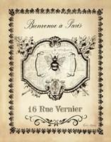 Paris Bees I Fine-Art Print