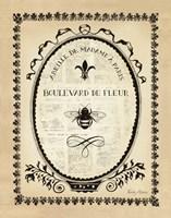 Paris Bees II Fine-Art Print