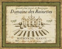 French Wine Label III Fine-Art Print