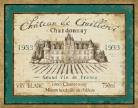 French Wine Label IV Fine-Art Print