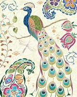 Peacock Fantasy III Fine-Art Print