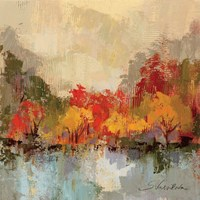 Fall Riverside II Fine-Art Print