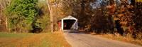 Melcher Covered Bridge Parke Co IN USA Fine-Art Print