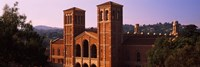 Royce Hall at the campus of University of California, Los Angeles, California, USA Fine-Art Print