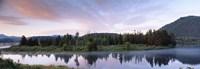 USA, Wyoming, Grand Teton Park, Ox Bow Bend Fine-Art Print