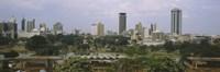 Skyline View of Nairobi, Kenya Fine-Art Print