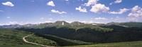 High angle view of a mountain range, Rocky Mountain National Park, Colorado, USA Fine-Art Print
