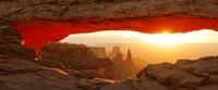 Mesa Arch at sunset, Canyonlands National Park, Utah, USA Fine-Art Print