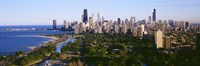 Aerial View Of Skyline, Chicago, Illinois, USA Fine-Art Print