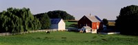 Farm, Baltimore County, Maryland, USA Fine-Art Print