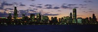 Chicago Skyline at Dusk Fine-Art Print