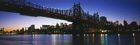 USA, New York City, 59th Street Bridge Fine-Art Print