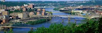 Monongahela River Pittsburgh PA USA Fine-Art Print