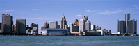Detroit Waterfront, Michigan Fine-Art Print