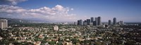 High angle view of a cityscape, Century city, Los Angeles, California, USA Fine-Art Print