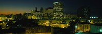 Newark, New Jersey at Night Fine-Art Print