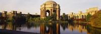 Buildings at the waterfront, Palace Of Fine Arts, San Francisco, California, USA Fine-Art Print
