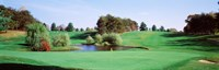 Pond at a golf course, Baltimore Country Club, Baltimore, Maryland, USA Fine-Art Print