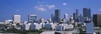 View of skyscrapers in Atlanta on a sunny day, Georgia, USA Fine-Art Print
