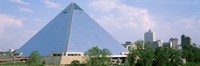 USA, Tennessee, Memphis, The Pyramid Fine-Art Print