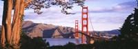 Golden Gate Bridge with Mountains Fine-Art Print