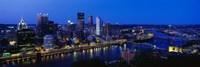 Pittsburgh from Mount Washington Fine-Art Print