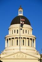 California State Capitol Building Sacramento CA Fine-Art Print