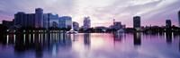 Lake Eola In Orlando, Orlando, Florida, USA Fine-Art Print